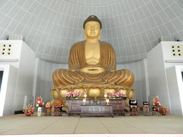 Photo of Singapore Singapore Round-Island Tour with Changi Prison, Kranji War Memorial and Gardens by the Bay The 13.8 Metre 55 ton Buddah at Kong Meng San Phor Kark See Monastery
