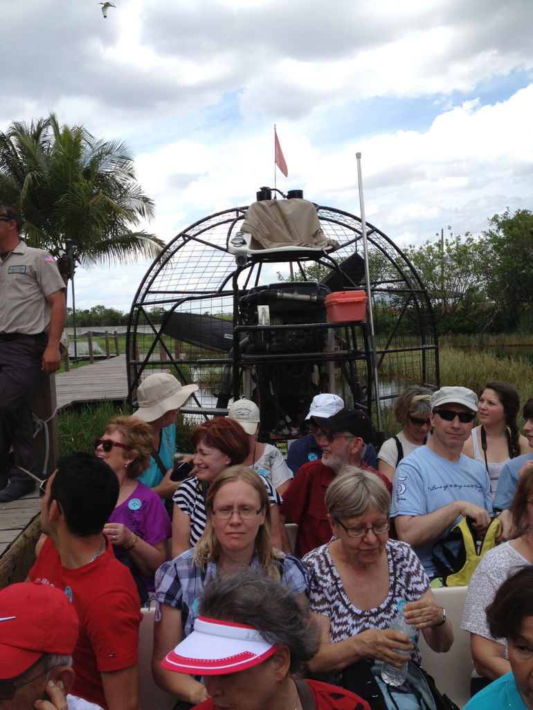 The Airboat Ride - Miami