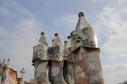 Photo of Barcelona Skip the Line: Gaudi's Casa Batlló Ticket with Audio Tour The chimney