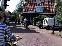 Photo of Amsterdam Dutch Villages and Countryside Bike Tour from Amsterdam Town Road