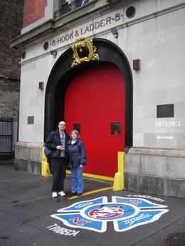 The Hook and Ladder used in the film., Karen H - November 2009