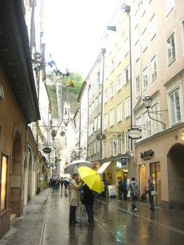 A street in Salzburg's town , Sofiah S - May 2011