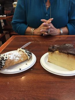 Photo of   Cannoli and Boston cream pie