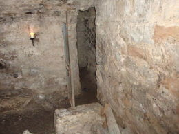 Photo of Edinburgh Underground Vaults Walking Tour in Edinburgh Dans les voûtes South Bridges