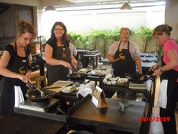 Photo of Bangkok Baipai Thai Cooking School Class in Bangkok Everyone Pay Attention!