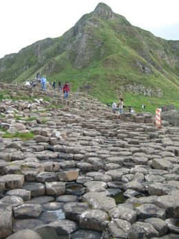 Another shot of the Causeway with people. - September 2007