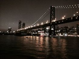Photo of San Francisco San Francisco Dinner Dance Cruise Golden Gate de noche