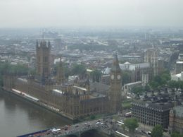 Just one of the highlights from the London Eye! - July 2008