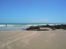 Practically deserted beaches await in Jericoacoara , Leah - May 2011