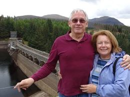 Diane and Graham stopped here at Loch Laggan to take photos. , Diane P - October 2014