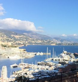 Monaco ... View of Monte Carlo from the other side , Bev Chislett - January 2016