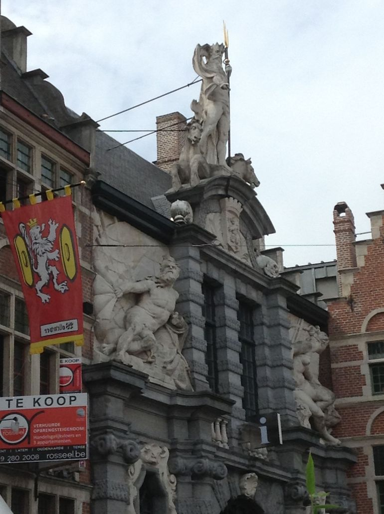 Old fish Market in Ghent - Brussels