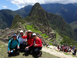 Famous Machu Picchu picture with my best friends. , Katija M - January 2015