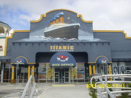 Photo of Orlando Titanic The Experience Orlando Aug 2011 041