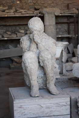 Photo of Rome Rome to Pompeii Shuttle Bus & Independent Day Trip Poignant figure in Pompeii