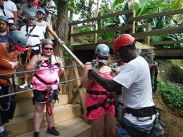 Photo of Roatan Roatan Shore Excursion: Zip 'n' Dip Canopy Tour Saftey !st