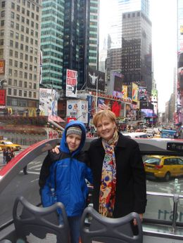 Photo of New York City New York City Hop-on Hop-off Tour Spring Break in Times Square, NY