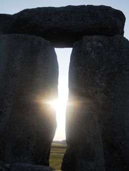 Photo of London Private Viewing of Stonehenge including Bath and Lacock Sun setting between the stones