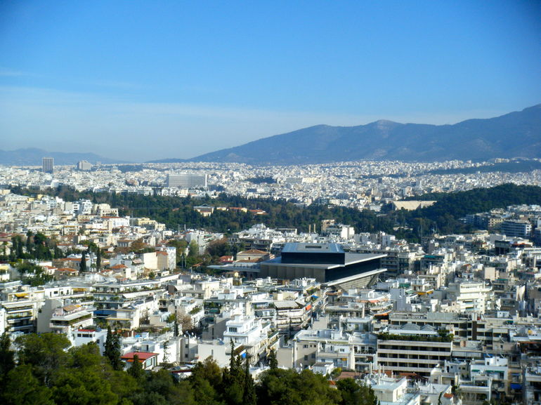 View from picnic location - Athens