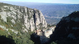 Photo of Barcelona Montserrat Royal Basilica Half-Day Trip from Barcelona View from the Finicular