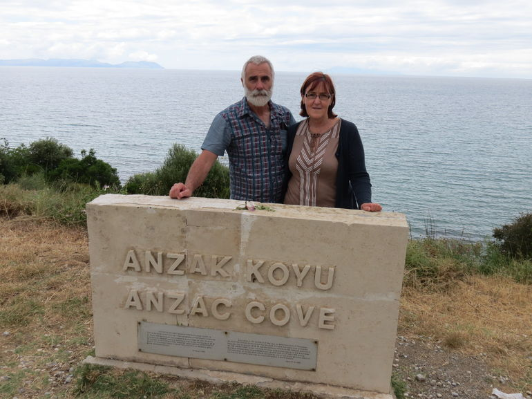 A moment not to miss at Anzac Cove - Istanbul