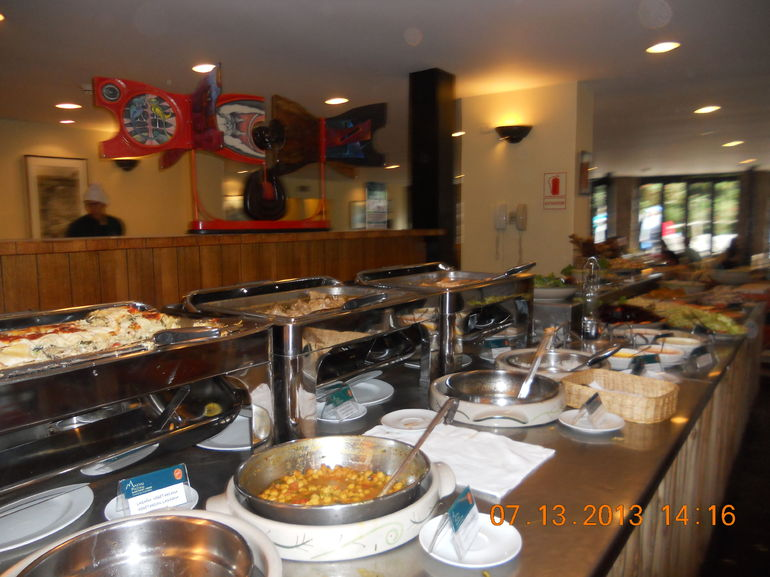 Buffet lunch in MP. - Lima