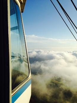 Up above the clouds ! , Sarah H - December 2014