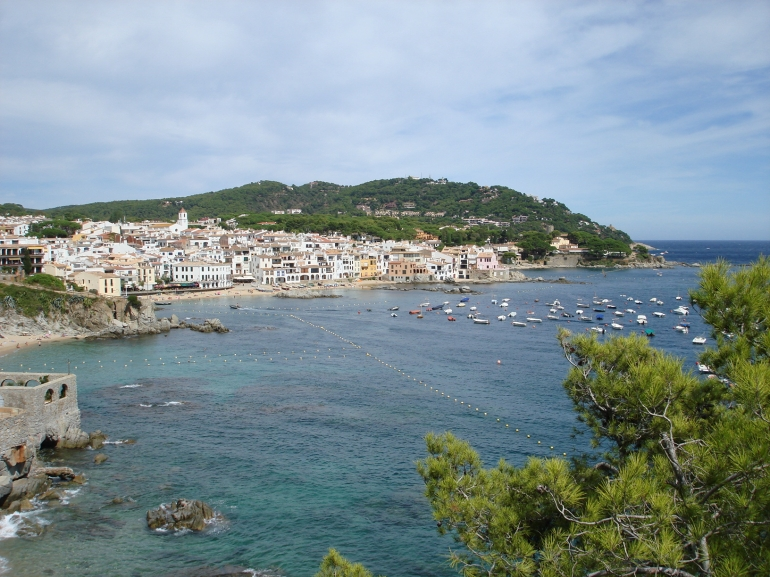 Calleja, Costa Brava - view upon arrival