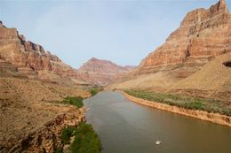 Photo of Las Vegas Ultimate Grand Canyon 4-in-1 Helicopter Tour Colorado River.