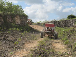Photo of Punta Cana Punta Cana Half-Day Dune Buggy Adventure Coming out of the quarry