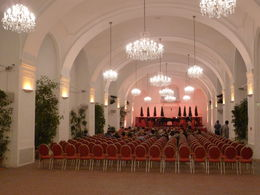 Photo of Vienna Schonbrunn Palace Evening: Palace Tour, Dinner and Concert Concertzaal in de Orangerie