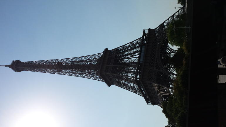 Eiffel Tower in all its glory.