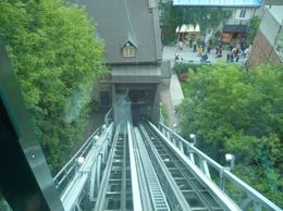 Photo of Montreal Quebec City and Montmorency Falls Day Trip from Montreal Funiculaire