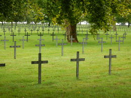 German cemetery containing close to 45,000 German casualties , jatypan - September 2015