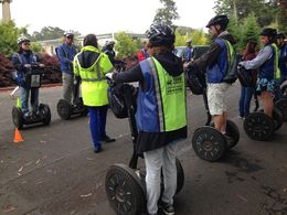 Photo of San Francisco Golden Gate Park Segway Tour Group Training