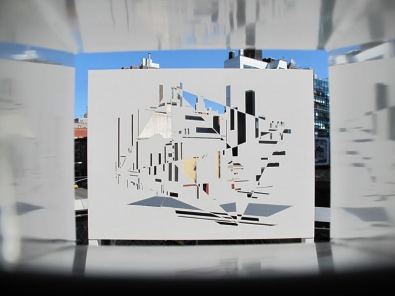 High Line Cityscape Viewer #1 -