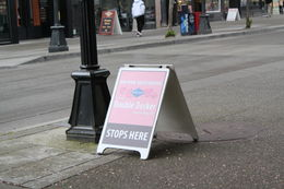 Photo of   LOOK FOR THE PINK BUS TOUR SIGNS!