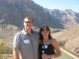Photo of Las Vegas Grand Canyon All American Helicopter Tour Me and the wifey in the Canyon