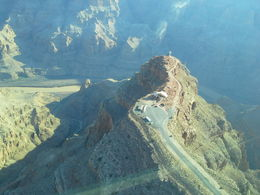 View as we came in to land. The pilot flew over the whole site. , Peter S - August 2014