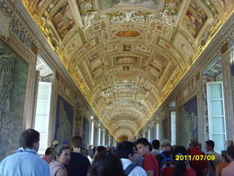 The Vatican leading to the Cistine Chapel , sharon t - July 2011