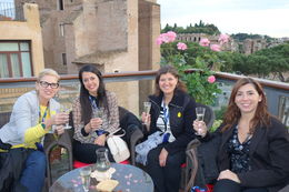 Photo of Rome Viator VIP: Exclusive Rome Rooftop Dinner and Colosseum Night Tour Including Underground Chambers Rooftop