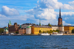 Photo of Stockholm Stockholm Shore Excursion: Stockholm Panoramic Sightseeing Tour Stockholm Colorful Buildings