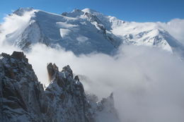 Photo of Geneva Chamonix and Mont Blanc Summit View
