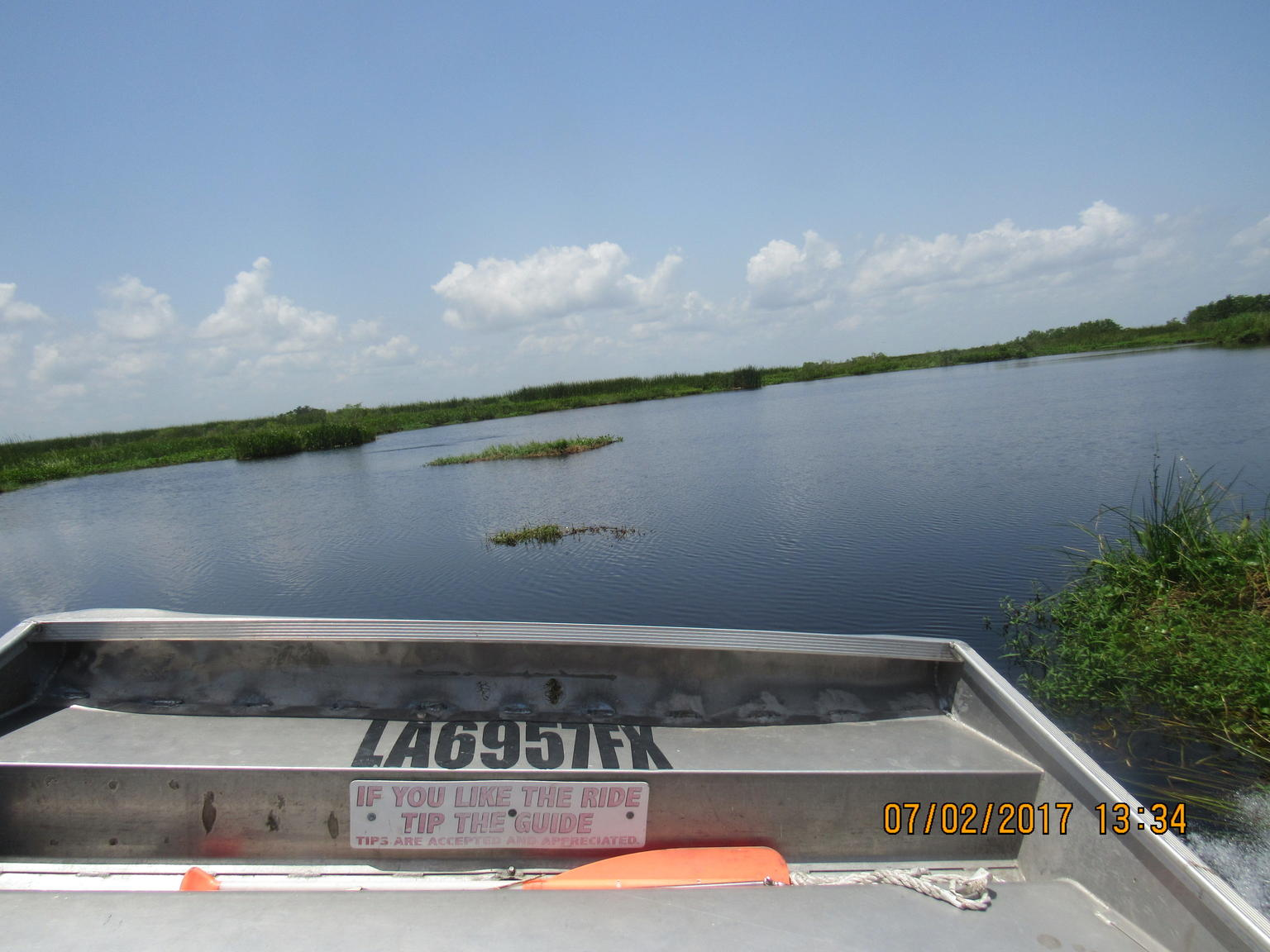 New Orleans Airboat Ride