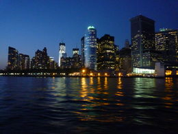Manhattan skyline at evening , Douglas - April 2012
