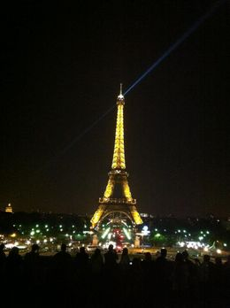 Photo of Paris Paris L'Open Hop-On-Hop-Off Tour A romantic photo of the Eiffel Tower from the Trocadero