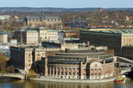 Aerial View of Stockholm - March 2012