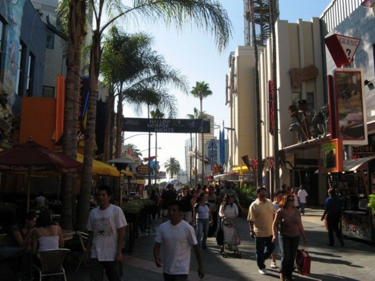 City Walk, Universal Studios Los Angeles - Los Angeles