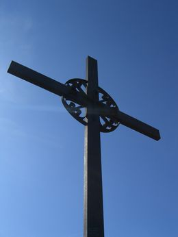 The cross we hiked to from Montserrat. , DaNeener - April 2011