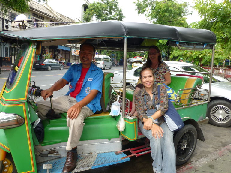 Fun tuk tuk tour - Bangkok